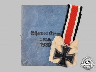 Germany, Wehrmacht. A 1939 Iron Cross II Class, by Moritz Hausch