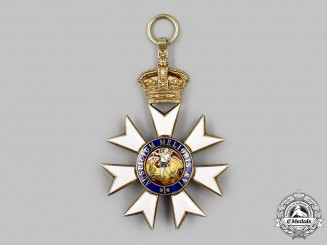 United Kingdom. An Order of St. Michael and St. George, Grand Cross, c. 1930