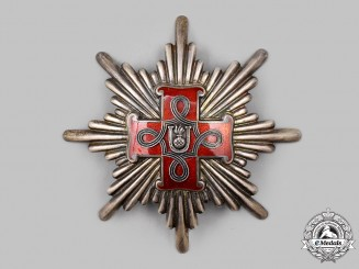 Croatia, Independent State. An Order of Merit, Grand Cross Star, Christian Version