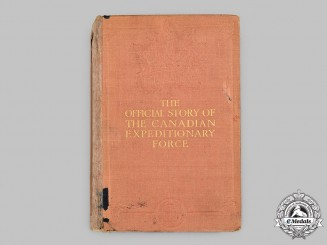 Canada. Canada in Flanders - The Official Story of the Canadian Expeditionary Force, Volume I