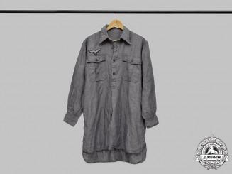 Germany, Luftwaffe. A Blue Service Shirt