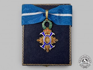 Spain, Kingdom. An Order of Civil Merit, III Class Commander, c.1975
