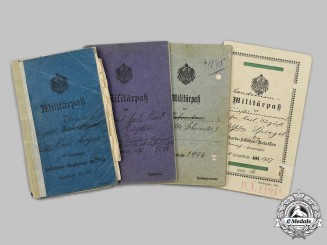 Germany, Imperial. A Mixed Lot of First World War Militärpaße