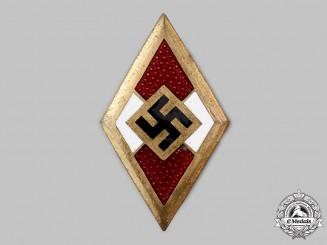 Germany, HJ. A Golden Honour Badge