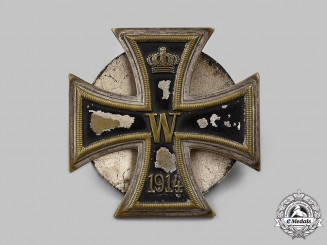 Germany, Imperial. A 1914 Iron Cross I Class, Rare One-Piece Magnetic Version