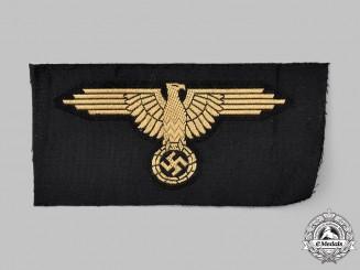 Germany, SS. A Waffen-SS Tropical EM/NCO's Sleeve Eagle