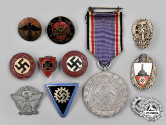 Germany, Third Reich. A Lot of Eleven items