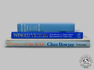 United Kingdom. Four Royal Air Force (RAF) Themed Books