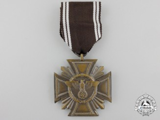 An NSDAP Long Service Award; 10 Years Service