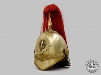 United Kingdom. A 1871 Pattern Victorian 1st King's Dragoon Guards Heavy Cavalry Helmet