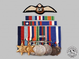 Canada, United Kingdom. Second War Royal Canadian Air Force Group of Seven