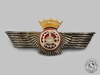 Spain, Fascist Period. An Air Force Automotive Badge