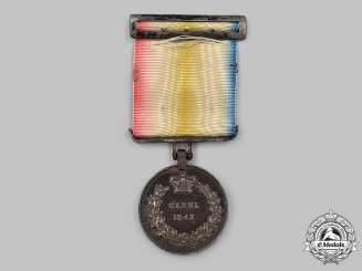 United Kingdom. A Cabul Medal 1842, 3rd King's Own Regiment of Dragoons