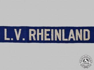 Germany, Weimar Republic. A Stahlhelm Rhineland District Cuff Title
