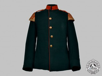 Germany, Imperial. A Jäger Regiment Musician's Dress Tunic