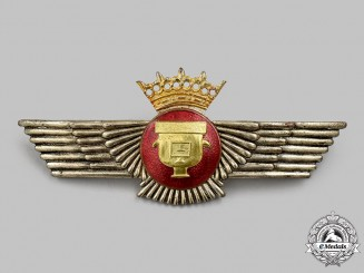 Spain, Fascist Period. An Air Force Cartography and Imaging Badge