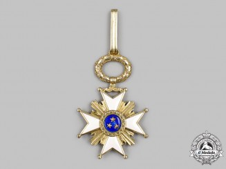 Latvia, Republic. An Order of the Three Stars, II Class Grand Officer, by W.R.Muller, c.1935