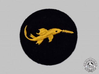 Germany, Kriegsmarine. A Small Battle Unit Qualification Badge