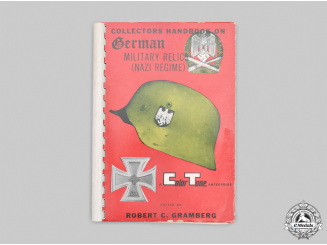 Germany, Third Reich; United States. Collectors Handbook on German Military Relics (Nazi Regime)