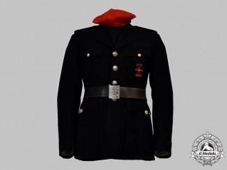 Spain, Facist State. A Falange Officer's Uniform, c.1940