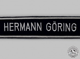 Germany, Luftwaffe. A Mint and Unissued 1st Fallschirm-Panzer Division NCO's Cuff Title