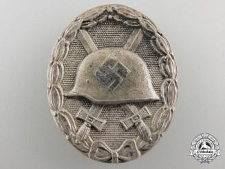 A Silver Grade Wound Badge by Josef Rückert & Sohn