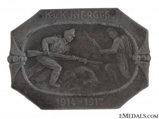 50th Infantry Regiment Badge 1914-1917
