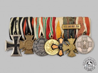 Germany, Imperial. A First World War Combatant Medal Bar
