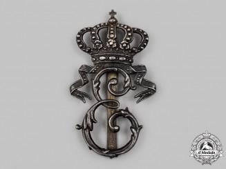 Romania, Kingdom. A 2nd Field Hunters Regiment of Queen Elisabeth Badge