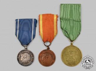 Finland, Republic. Three Medals
