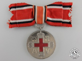 A Second Class German Red Cross Medal; Ladies Version