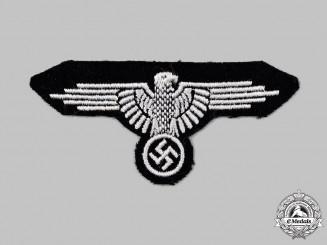 Germany, SS. A Late-War Waffen-SS EM/NCO's Sleeve Eagle