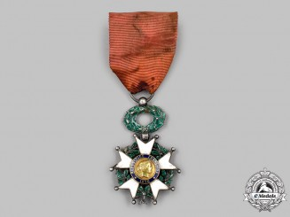 France, III Republic. Order of the Legion of Honour, V Class Knight, c.1880