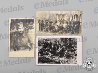 Yugoslavia, Kingdom. A Lot of Wartime Chetnik Photos