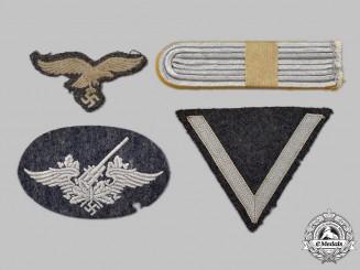 Germany, Luftwaffe. A Mixed Lot of Uniform Insignia