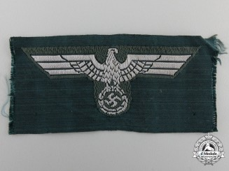 A Wehrmacht NCO's Overseas M43 Army Cap Eagle