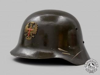 Spain, Spanish State. An Officer's Parade Helmet, by Casa Yustas, c. 1941