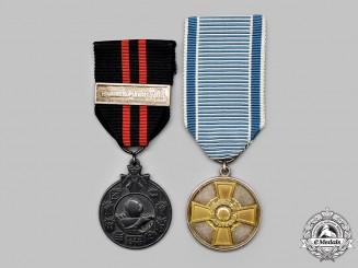 Finland, Republic. Two Awards