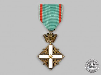 Italy, Republic. An Order of Merit of the Italian Republic, V Class Knight, c.1955