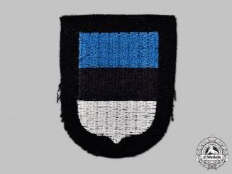 Germany, SS. A Waffen-SS Estonian Volunteer's Sleeve Shield