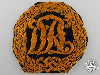 A DRL Sports Badge; Cloth Version