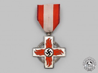 Germany, Third Reich. A Fire Brigade Honour Decoration, II Class
