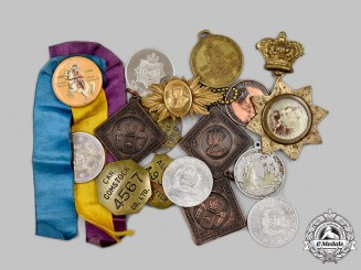 Canada. Lot of Sixteen Coronation, Jubilee and Commemorative Items