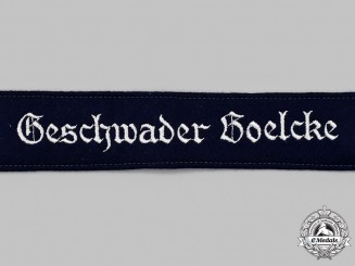 Germany, Luftwaffe. A Mint and Unissued Geschwader Boelcke EM/NCO's Cuff Title