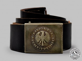 Germany, Federal Republic (West Germany). An Army Enlisted Man's Belt with Buckle