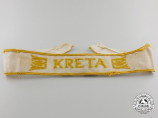 A Kreta Campaign Cufftitle; Tunic Removed