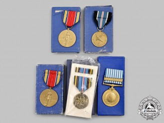 United States. Five Military Medals