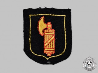 Germany, SS. A Waffen-SS Italian Volunteer's Sleeve Insignia