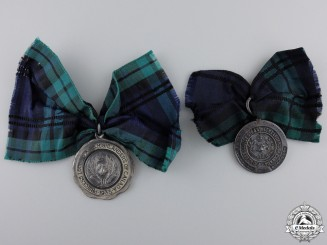 91st Princess Louise's Argyle and Sutherland Highlanders of Canada Shooting Medals