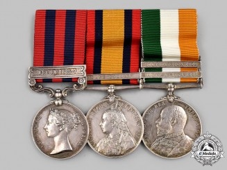 United Kingdom. A Burma Theatre and Boer War Service Trio, to Private Thomas Tugday, Somerset Light Infantry
